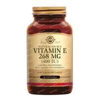Solgar Vitamin E 268 mg/400 IU Complex 50  gélules souples