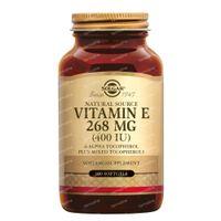 Solgar Vitamin E 268 mg/400 IU Complex 100  softgels