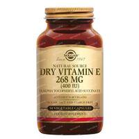 Solgar Vitamin E 268 mg/400 IU Dry 50  kapseln