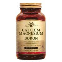 Solgar Calcium Magnesium Plus Boron 250  comprimés