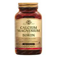 Solgar Calcium Magnesium Plus Boron 250  tabletten