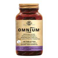 Solgar Omnium 180  tabletten