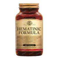 Solgar Hematinic Formula 100  comprimés