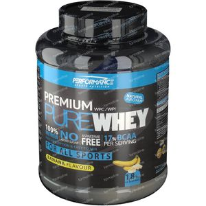Performance Premium Pure Whey Banane 1800 g