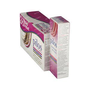 Pilos Forte 2+1 Maand GRATIS + GRATIS Anti-Haaruitval Shampoo 150 ml 120+60 capsules