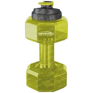Performance Dumbbell Flasche Gelb 2,2 l