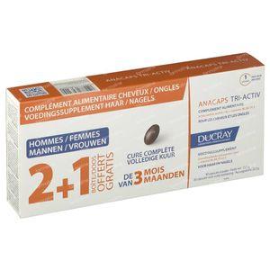 Ducray Anacaps Tri-Activ 3x30 kapseln