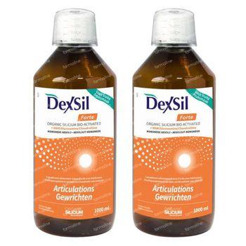 DexSil Forte Joints Drinkable Solution Duopack 2x1 l