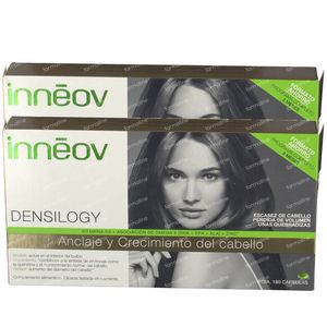 Innéov Densilogy Case 3 Months Treatment 1+1 For FREE 2x180 capsules
