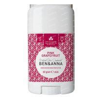 Ben & Anna Natürliches Deo Stick Pink Grapefruit 60 g