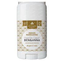 Ben & Anna Natuurlijke Deodorant Stick Indian Mandarine 60 g