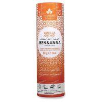 Ben & Anna Natuurlijke Deodorant Kartonnen Stick Vanilla Orchid 60 g