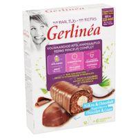 Gerlinéa Mijn Maaltijd Repen Chocolade & Kokos 12x31 g