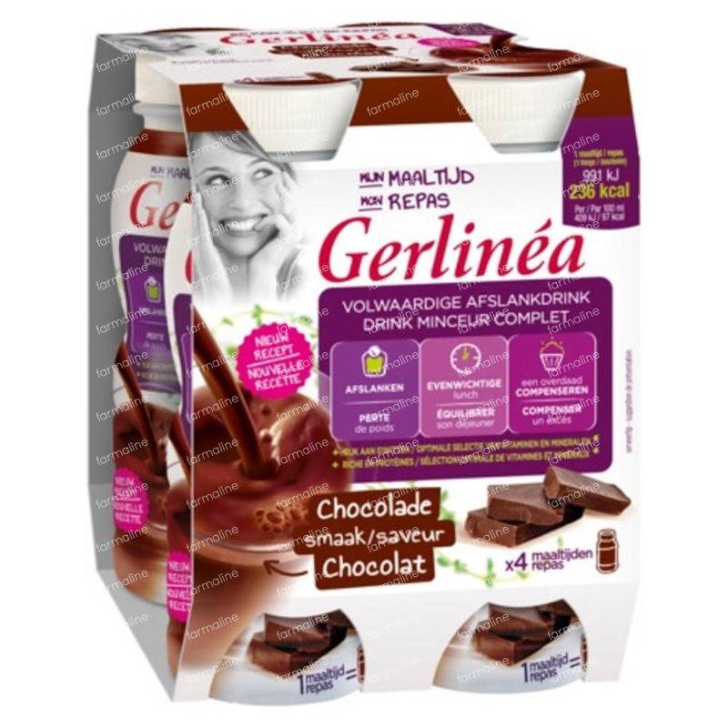 Gerlinéa Mon Repas Drink Minceur Complet Chocolat 4x236 ml ...