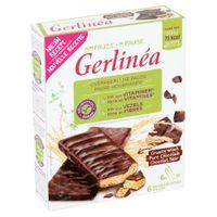 Gerlinéa Ma Pause Crusty Snack Chocolat Noir 6 pièces