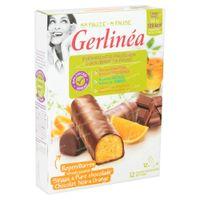 Gerlinéa Ma Pause Barres Orange & Chocolat Noir 12x31 g