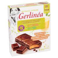 Gerlinéa Mijn Pauze Repen Chocolade & Hazelnoot 8x20 g