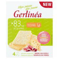 Gerlinéa Mijn Pauze Gevulde Sandwiches Ham & Kaas 4x20 g