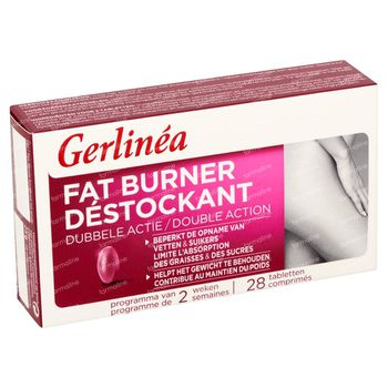 Gerlinéa Déstockant Action Double  28 comprimés