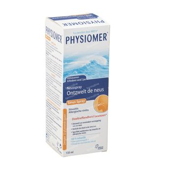 Physiomer Sinus Neusspray + Sinus Pocket Spray 135+20 ml