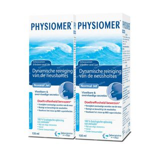Physiomer Normal Jet Duo 2e mit -50% 2x135 ml solution