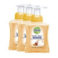 Dettol Wasgel Melk Honing Tripack 3x250 ml