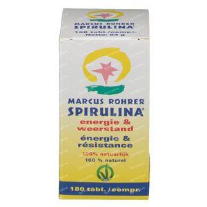 Marcus Rohrer Spirulina 300mg + 60 Tabletten GRATIS 180+60 tabletten