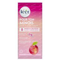 Veet voor je Mooi Gezicht Waxstrips Nectarine 8 st