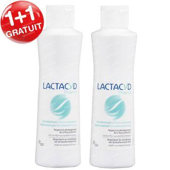 Lactacyd Pharma Soin Intime Lavant à l'Action Antibactérienne 1+1 GRATUIT 2x250 ml