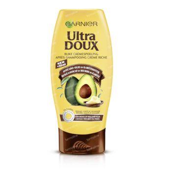 Garnier Ultra Doux Après-Shampooing Riche Huile d'Avocat et Beurre de Karité Cheveux Secs à Très Secs 250 ml