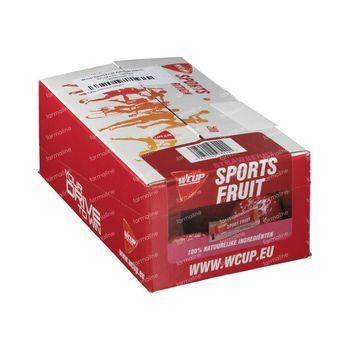 WCUP Sports Fruit Fraise 12x25 g