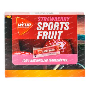 WCUP Sports Fruit Erdbeere 12x25 g
