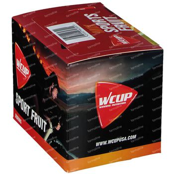 Wcup Sports Fruit Mix 12x25 g