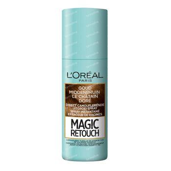 L'Oréal Paris Magic Retouch Effaceur de Racines Spray Instantané d'Or Marron Moyen 75 ml