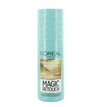 L'Oréal Paris Magic Retouch Effaceur de Racines Spray Instantané Blond Moyen 75 ml