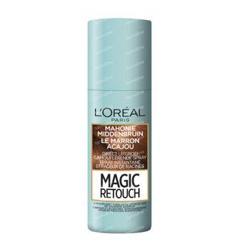 L'Oréal Paris Magic Retouch Effaceur de Racines Spray Instantané Acajou Brun Moyen 75 ml