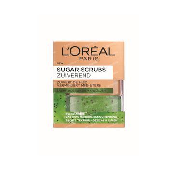 L'Oréal Paris Sugar Scrub Purifiant au Kiwi 50 ml