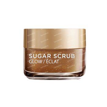 L'Oréal Paris Sugar Scrub Glow Gommage Visage à l'Huile de Pépins de Raisin 50 ml