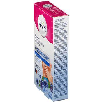 Veet Easy-Gel Bandes de Cire Aisselles - Peaux Sensibles 30 bandes