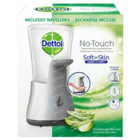 Dettol HT No Touch Silver Gadget + Hydratant Aloe Vera Inclusief Lader 1 stuk