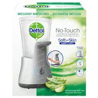 Dettol HT No touch Silver gadget + Hydratant Aloe Vera Inklusive Ladegerät 1 st