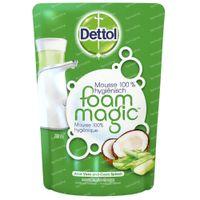 Dettol Foam Magic Aloë Vera/Koko's Splash Navulling 2x200 ml