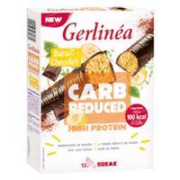 Gerlinéa Carb Reduced High Protein Reep Banaan & Chocolade 372 g