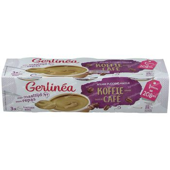 Gerlinéa Mijn Maaltijd Pudding Saveur Café 3x210 g