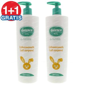 Galenco Baby Bodymilk 1+1 FREE 2x400 ml