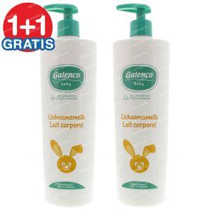 Galenco Baby Körpermilch 1+1 GRATIS 2x400 ml