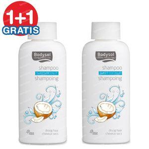 Bodysol Shampoo Dry Hair Cocos 1+1 FREE 2x200 ml