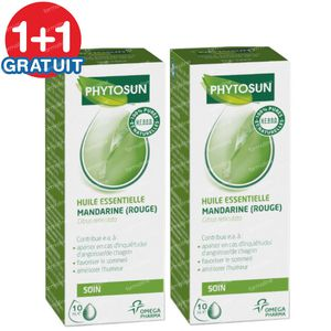 Phytosun Orange Douce Huile Essentielle Bio 1+1 GRATUIT 2x5 ml