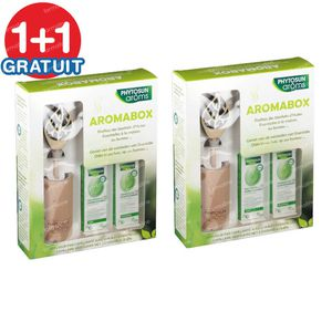 Phytosun Aromabox - Capillary Diffuser + Eucalyptus Radiata & True Lavender 1+1 FREE 2x1 set