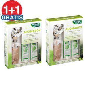 Phytosun Aromabox - Diffuseur par Capillarité + Eucalyptus Radiata & Lavende Officinale 1+1 GRATUIT 2x1 set